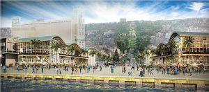 חזית הים העירונית (הדמיה: משרד אמיר מן-עמי שנער אדריכלים)