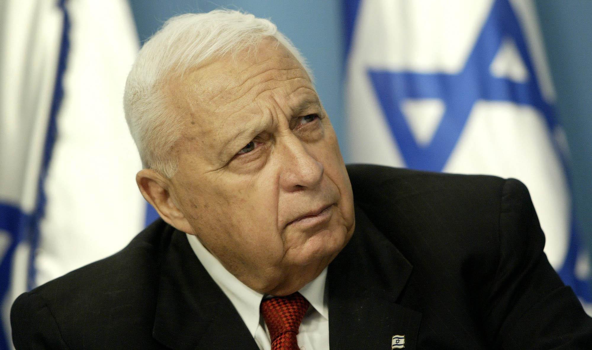 ראש הממשלה לשעבר אריאל שרון (צילום: אי.פי)