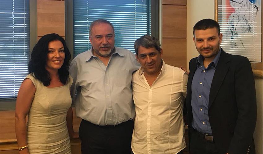 ישראל ביתנו: קפלון קיבל את תמיכתו של ליברמן