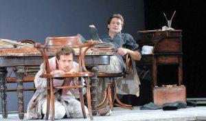 """מתוך ההצגה """"הדוד וניה"""" (צילום: ילנה לפינה)"""