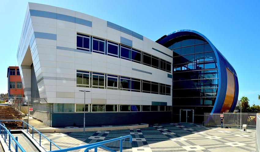 המרכז הטכנולוגי בנוה דוד (צילום: דוברות עיריית חיפה)