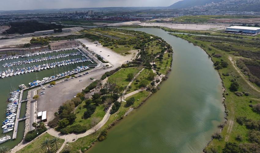 פארק מעגן הדיג (צילום: רשות נחל הקישון)