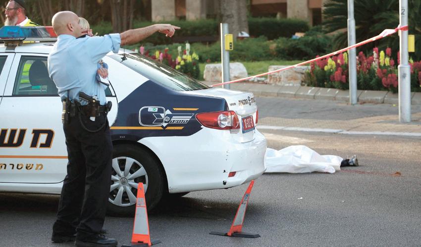 תאונת דרכים עם הרוג (צילום: תומר אפלבאום)