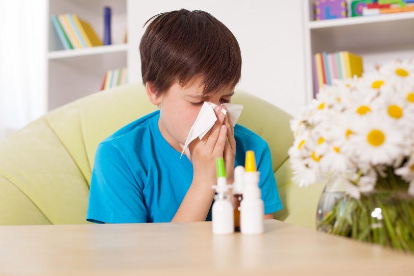 אילוסטרציה אלרגיה. Ingimage