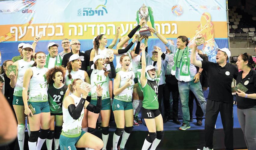 מכבי XT חיפה. החלטה פוליטית (צילום: צלמוס)