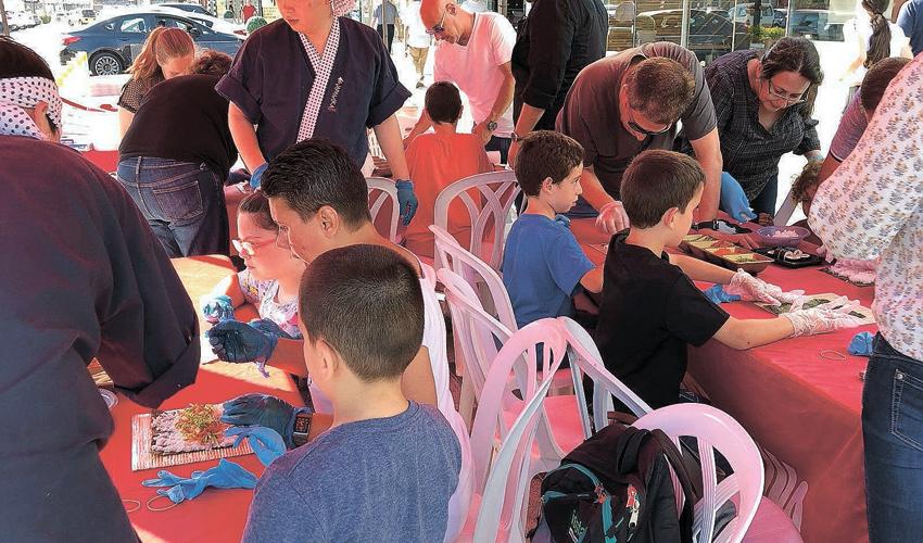 פעילות יצירה לילדים בביג צ'ק פוסט