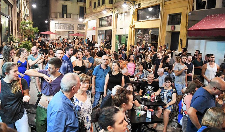חגיגת קיץ בעיר התחתית (צילום: ראובן כהן)