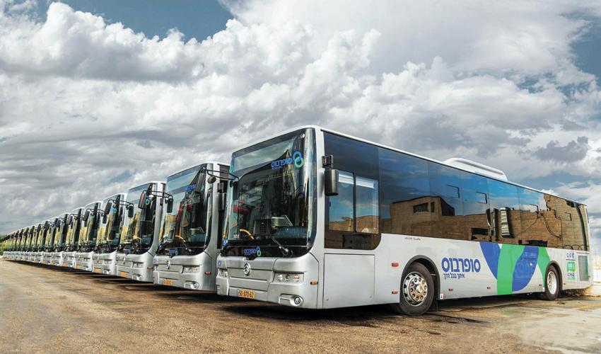 אוטובוסים של חברת סופרבוס (צילום: חברת סופרבוס)