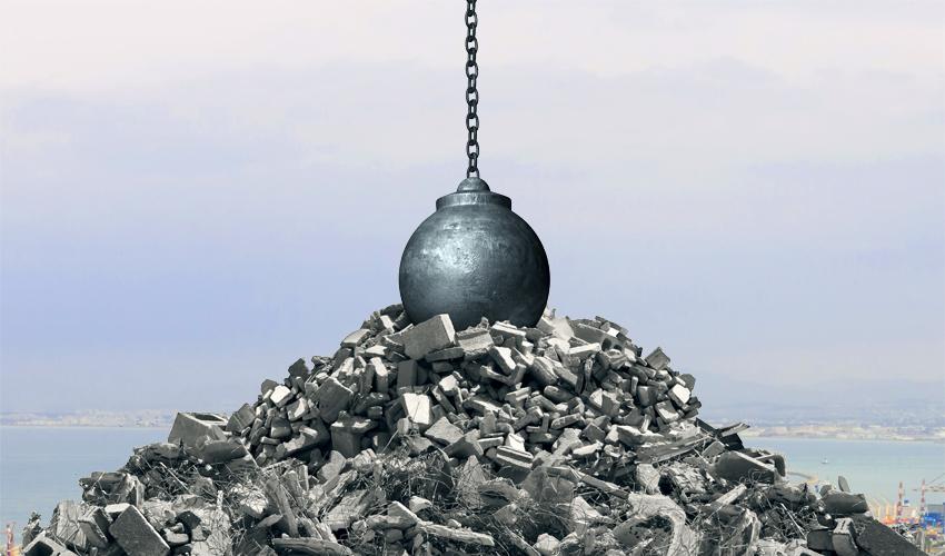 כדור הריסה (צילום: א.ס.א.פ קריאייטיב/INGIMAGE)