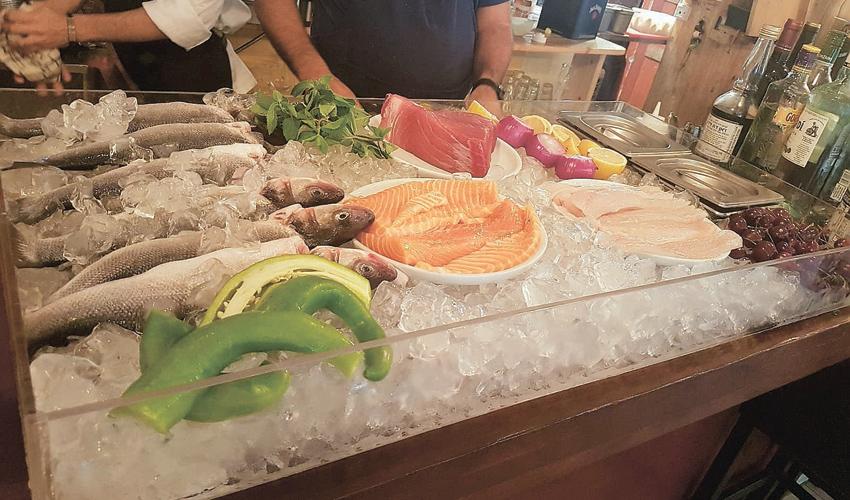 שוק הדגים ופירות הים בוניה ביסטרו. יהפוך לקונספט קבוע