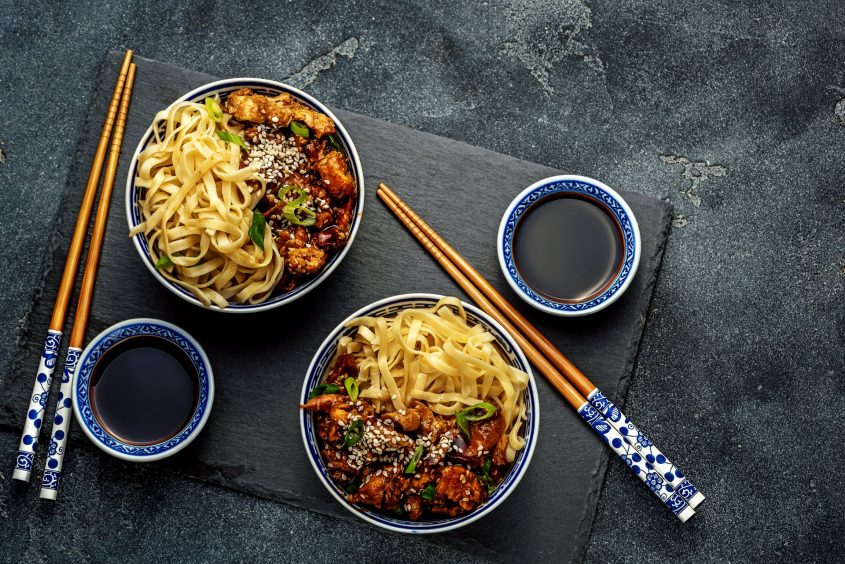 אוכל אסייאתי (מאגר תמונות Shutterstock)