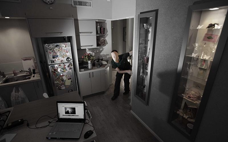 פריצה לדירה (צילום: דן קינן)