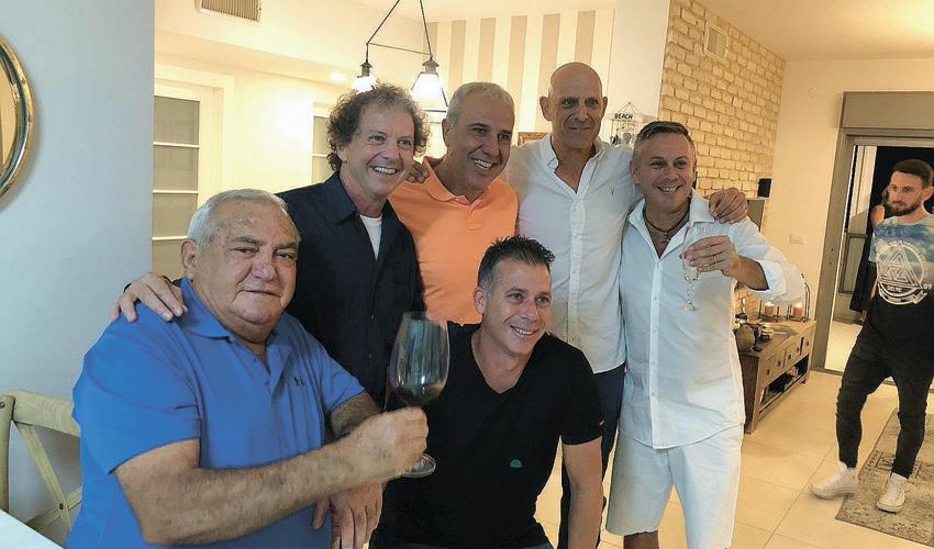 """המסיבה לכבוד דניאל בריילובסקי. """"הוא רצה מאוד לפגוש את הוותיקים שהוא לא ראה במשך שנים"""""""