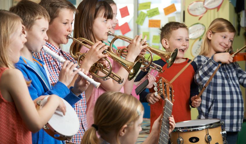 ילדים מנגנים (צילום: (צילום: א.ס.א.פ קריאייטיב/INGIMAGE)