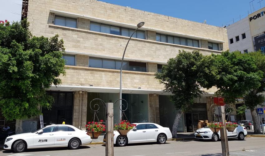 המבנה ברחוב שער פלמר 4 (צילום: דוברות עיריית חיפה)