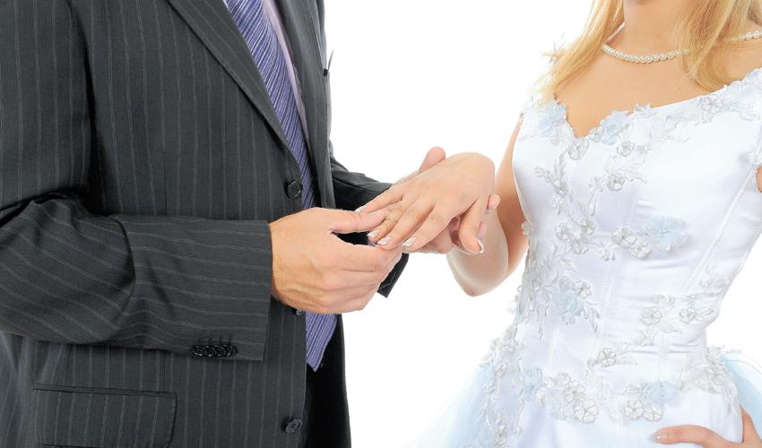 חתונה. ירידה בשיעור הנישאים (צילום: א.ס.א.פ קריאייטיב/INGIMAGE)