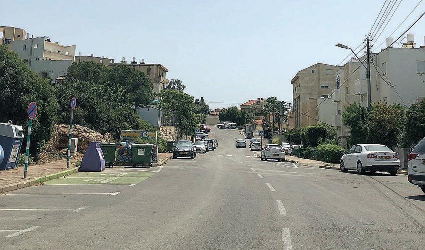 רחוב נעמי בשכונת כרמליה
