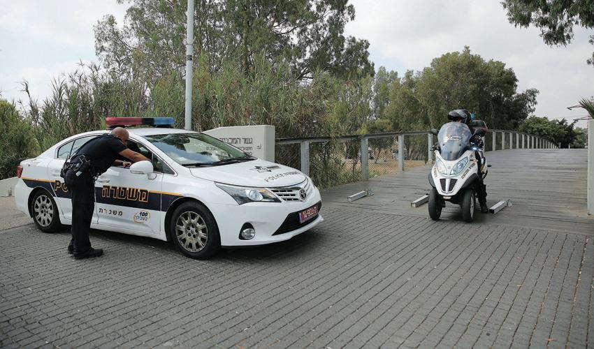 כוחות משטרה (צילום: עופר וקנין)