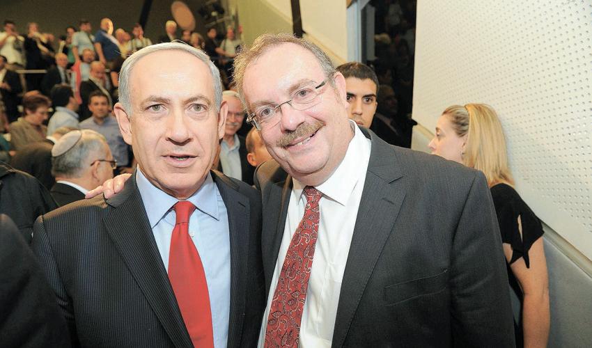 הרב פרופ' דניאל הרשקוביץ וראש הממשלה בנימין נתניהו (צילום: ראובן קסטרו)