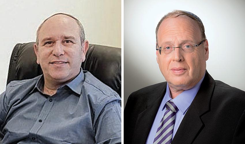 """שי בלומנטל ויואב רמתי. """"אני פוחד שהבית היהודי במקרה הטוב יקבל מנדט ובמקרה הפחות טוב לא יעבור את אחוז החסימה"""" (צילום: שלמה שהם)"""