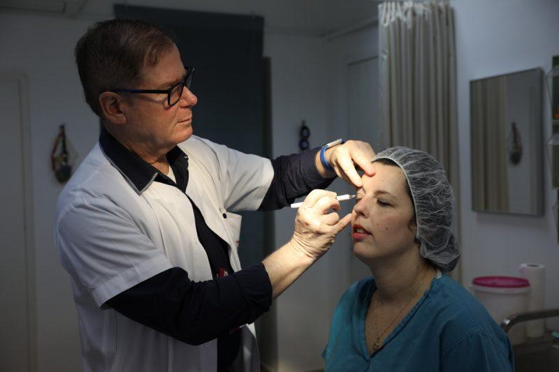 """פרופ' יהודה אולמן, מנהל שירותי רפואה אסתטית ברמב""""ם. צילום : זיו קורן."""