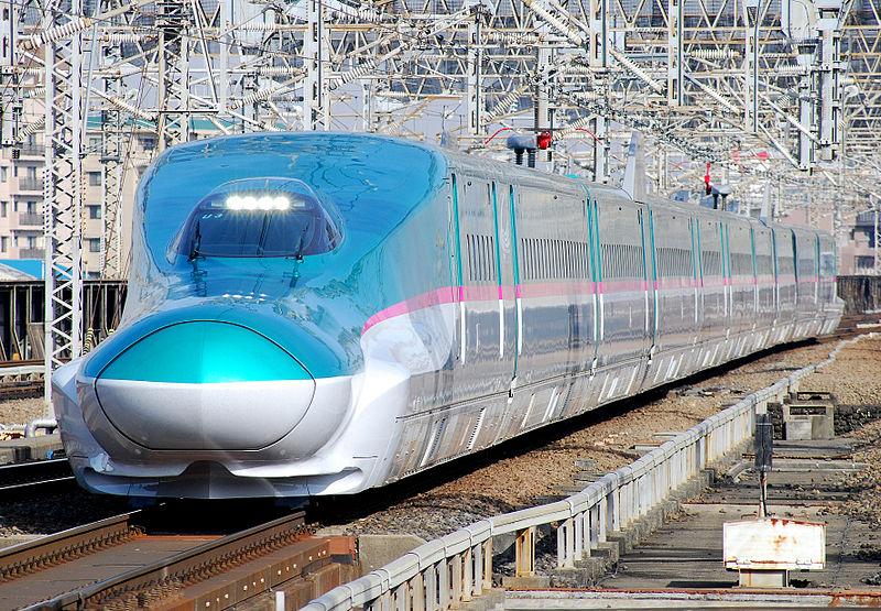 רכבת השינקנסן ביפן (צילום: Toshinori Baba)