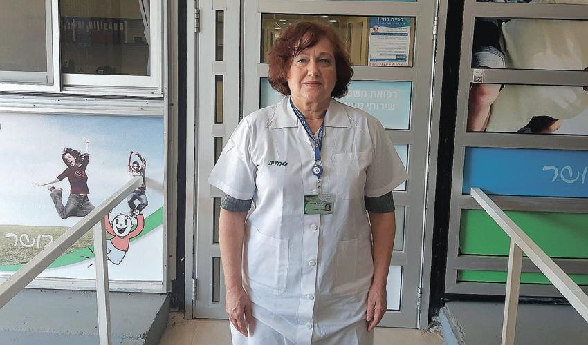 """ד""""ר ענת רוזנצוויג (צילום: דוברות שירותי בריאות כללית)"""