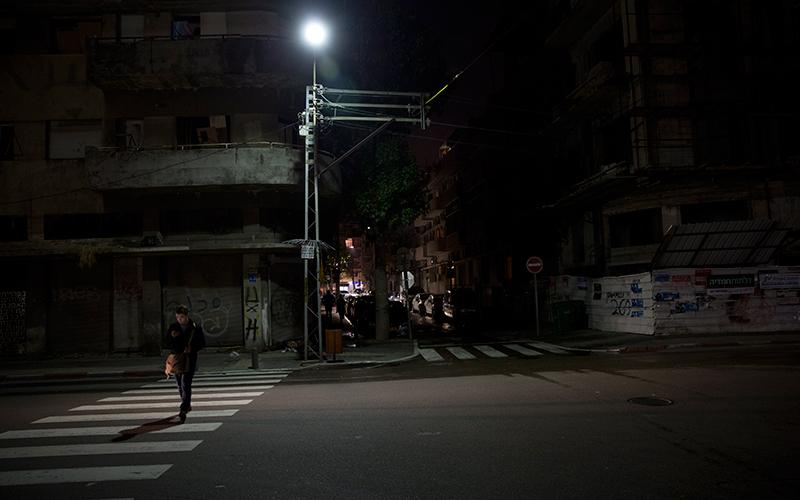 תאורת רחוב (צילום: מוטי מילרוד)