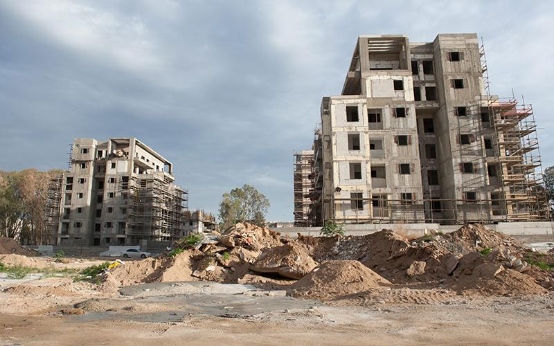 """פרויקט """"מחיר למשתכן"""" בקרית מוצקין (צילום: דורון גולן)"""