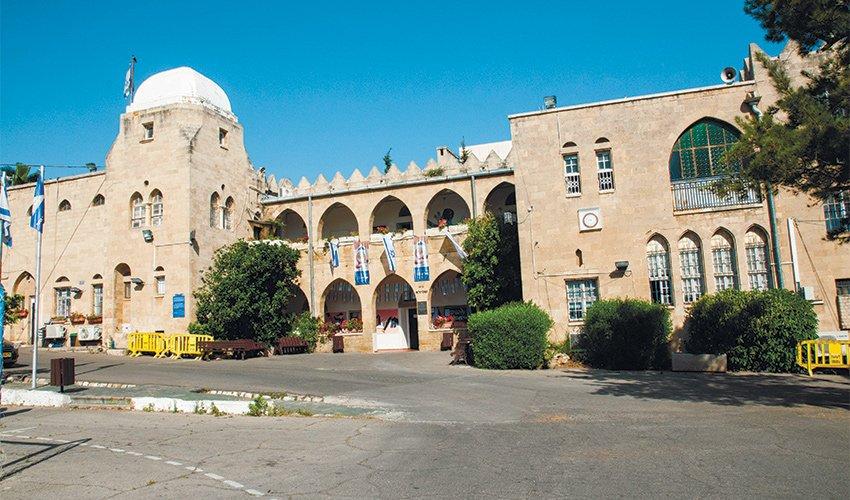 בית שפירא של בית הספר הריאלי בהדר (צילום: אריאל מזרחי)