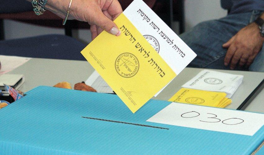 קלפי בבחירות לרשויות המקומיות (צילום: עזרא לוי)