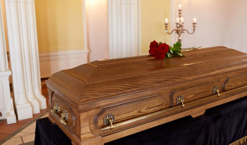 ארון קבורה (צילום: א.ס.א.פ קריאייטיב/INGIMAGE)