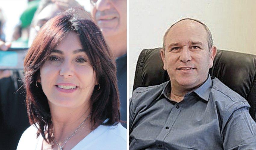 יואב רמתי ומירי רגב (צילום: ניר קידר)