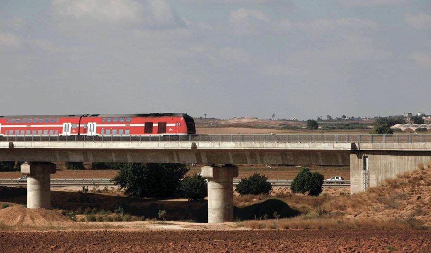 רכבת ישראל (צילום: אליהו הרשקוביץ)