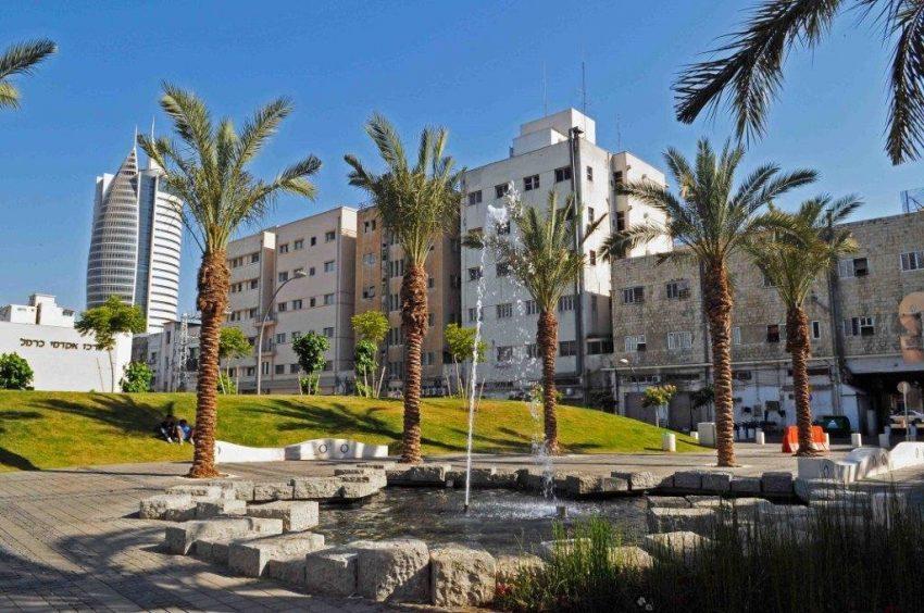רחוב הנמל (צילום: דוברות עיריית חיפה)