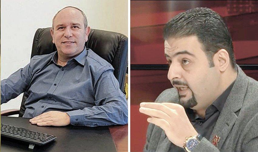 רג'א זעאתרה ויואב רמתי. עימות על רקע לאומי