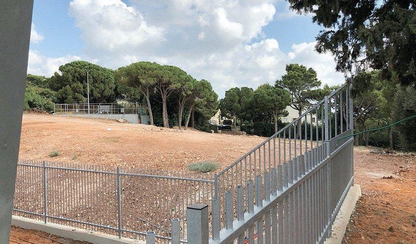השטח שעליו מתוכנן לקום בית הספר ברמת אשכול