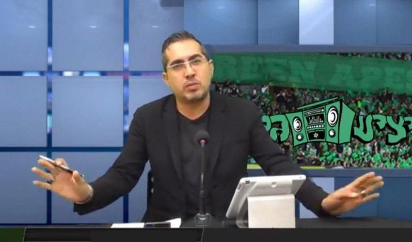 """רפאל קבסה. """"הפלטפורמה שבה אני מעביר את השידור היא הפייסבוק והיא לא שייכת להם"""" (צילום: מתוך דף הפייסבוק מועדון האוהדים מכבי חיפה)"""