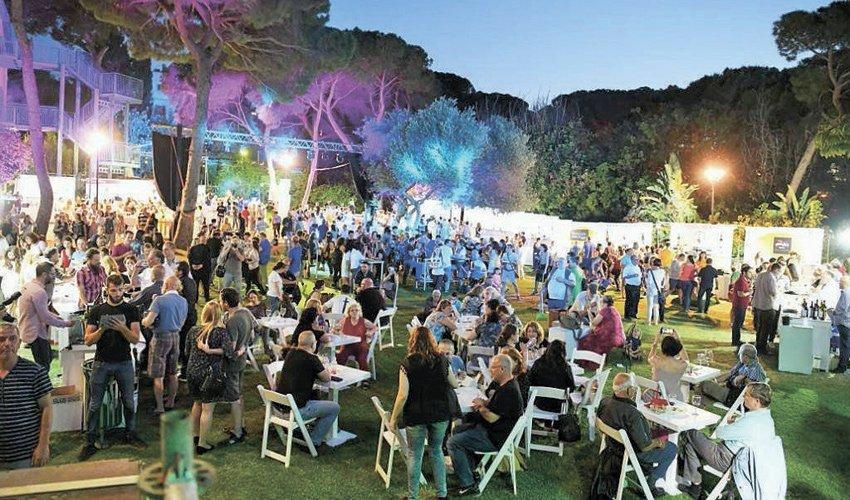 """פסטיבל היין בגן האודיטוריום. בזכות ההצלחה של האירוע הקודם (צילום: יח""""צ)"""