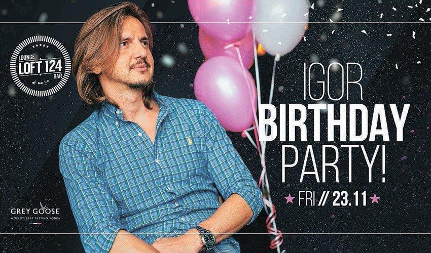 ההזמנה ליום ההולדת של איגור גורדצקי. חגיגה כפולה