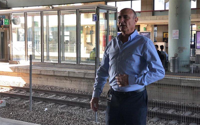 """מנכ""""ל הרכבת שחר איילון (צילום: שושן מנולה)"""