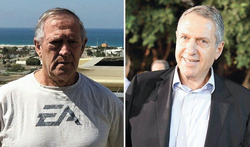 יעקב פיינגולד ואיתמר צ'יזיק. בקיעים ראשונים בסיעת חיפה מתחדשת (צילום: ראובן כהן)
