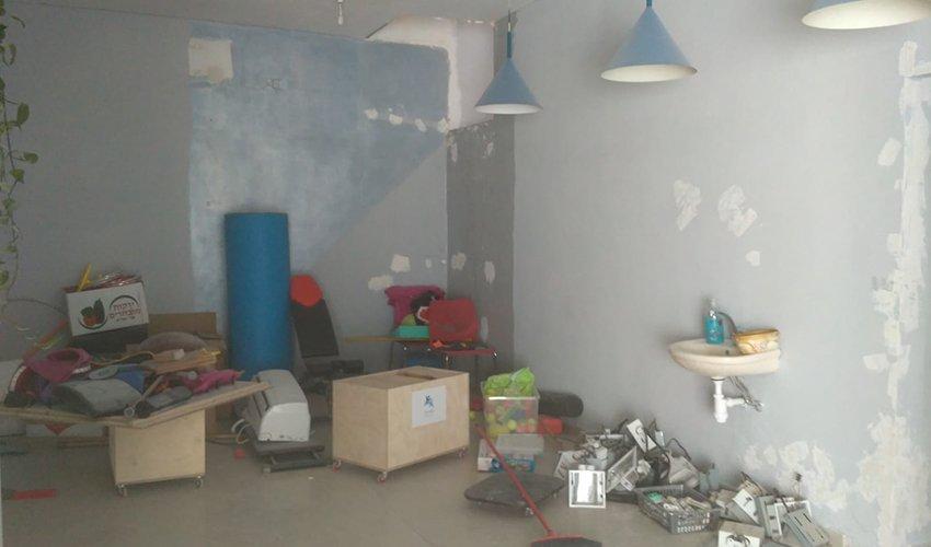 המקום שבו מתוכנן לקום הסטודיו לאנשים עם מוגבלות