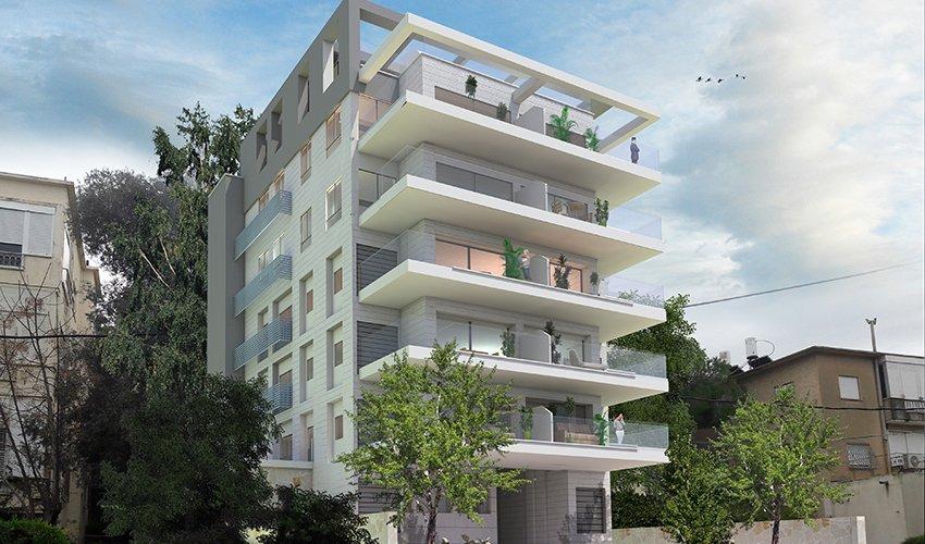 הפרויקט ברחוב כלניות 9 (הדמיה: ויטנר אדריכלים)