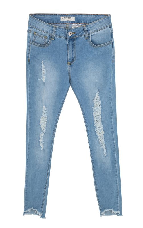 """ג'ינס קרעים """"קמדן אנד שוז"""" 79 שקלים. צילום: טל טרי"""