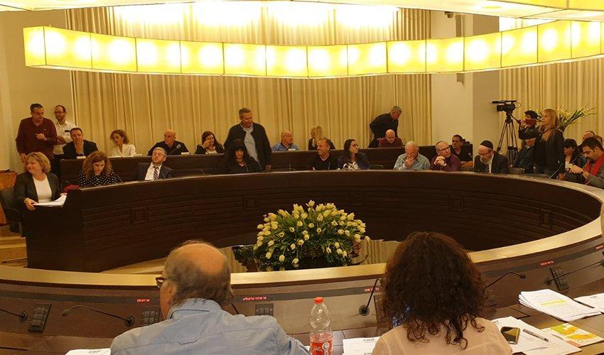 ישיבת הוועדה המקומית לתכנון ובנייה