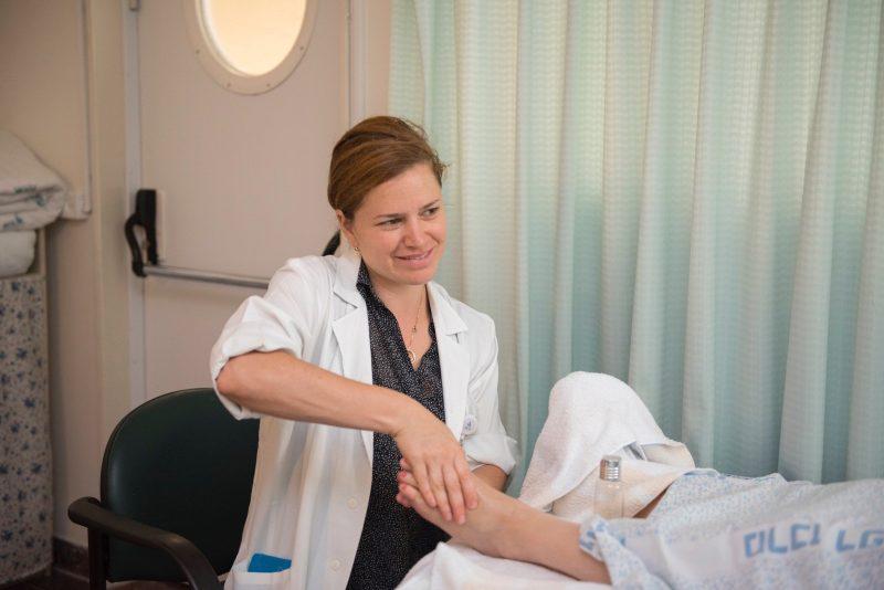 רפואה משלימה בחדרי הלידה. קרדיט: המרכז הרפואי בני ציון