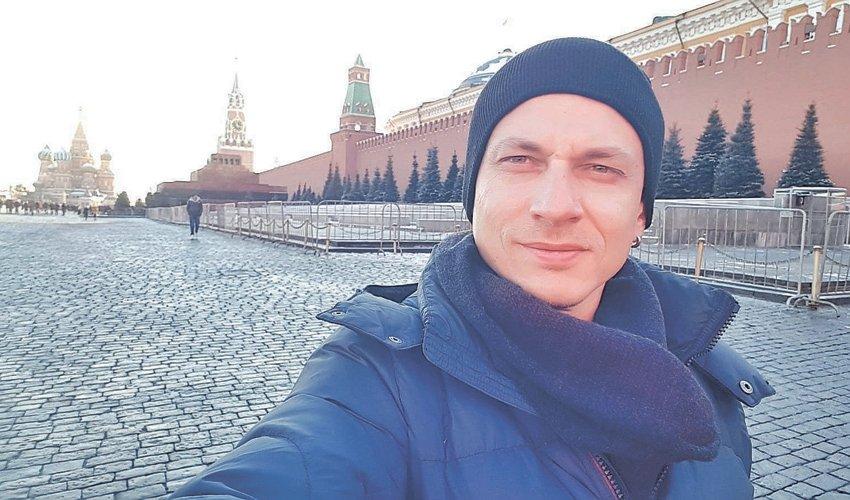 """די.ג'יי פיל קוסינוב בכיכר האדומה. """"זה היה קטע הזוי"""""""