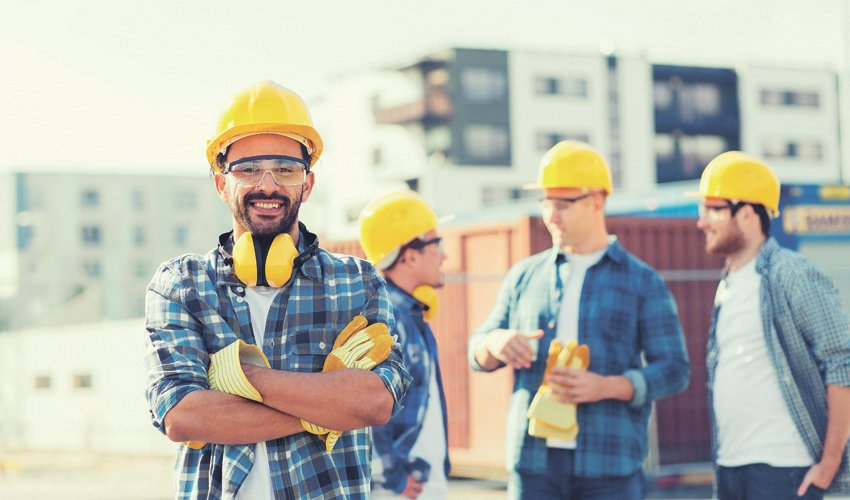 גברים בעבודה (צילום: א.ס.א.פ קריאייטיב/INGIMAGE)