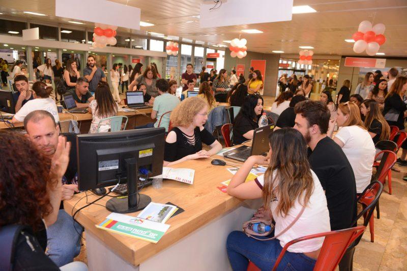 יום פתוח באוניברסיטת חיפה. צילום: דוברות אוניברסיטת חיפה